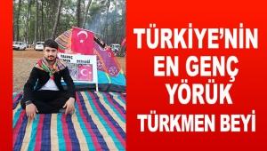 Türkiye'nin en genç Yörük Türkmen Beyi