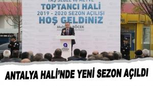 Antalya Hali'nde yeni sezon açıldı