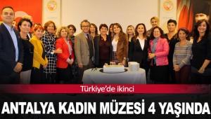 Antalya Kadın Müzesi 4 yaşında