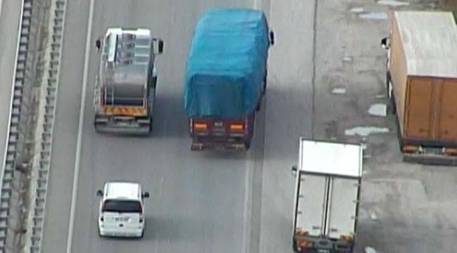 Antalya trafiğine havadan denetim