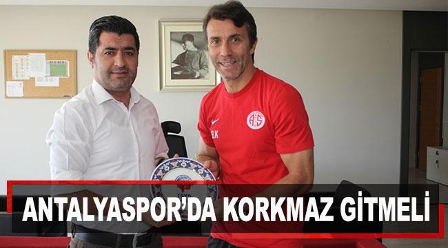 Antalyaspor'da Korkmaz gitmeli