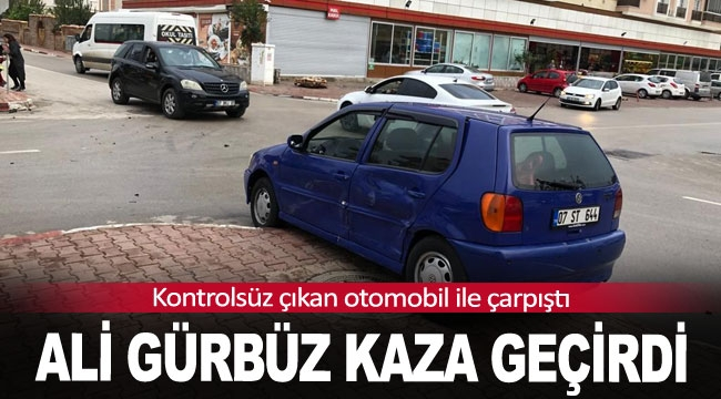 Başpehlivan Ali Gürbüz kaza geçirdi