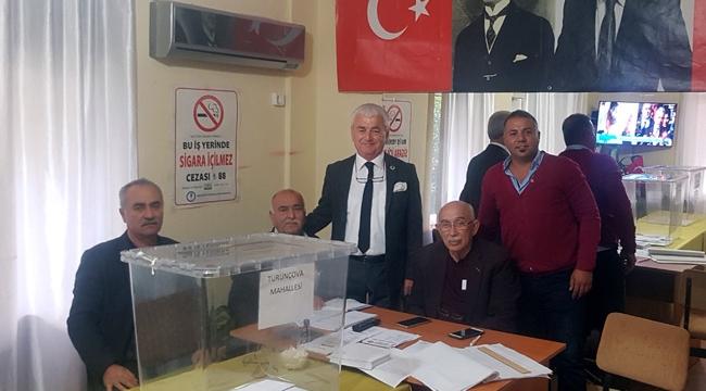 CHP Finike'de delege seçimi