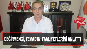 Değirmenci, TEMAD'ın faaliyetlerini anlattı