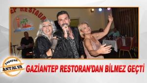 Gaziantep Restoran'dan Bilmez geçti