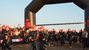 Ironman'lar yarıştı