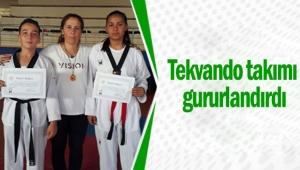 Kepez'in Tekvando takımı gururlandırdı