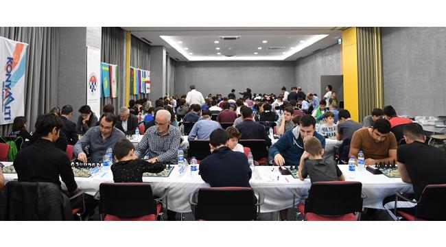 Konyaaltı'nda satranç turnuvası