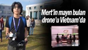 Mert'in mayın bulan drone'u Vietnam'da