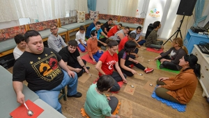 Özel çocuklardan 'Aksaray' tepkisi