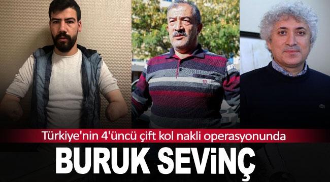 Türkiye'nin 4'üncü çift kol nakli operasyonunda buruk sevinç