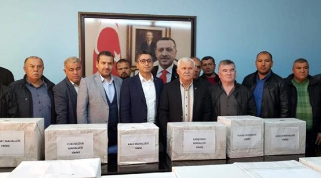 AK Parti Finike'de delege seçimi yapıldı