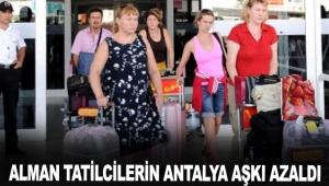 Alman tatilcilerin Antalya aşkı azaldı