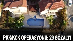 Antalya'da PKK/KCK operasyonu: 29 gözaltı