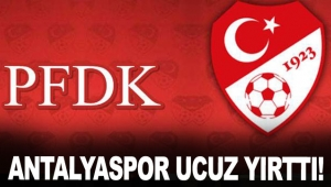 Antalyaspor ucuz yırttı!