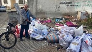 Balbey'de çöp isyanı