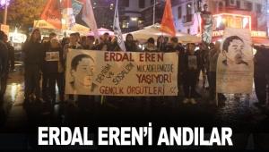 Erdal Eren'i andılar