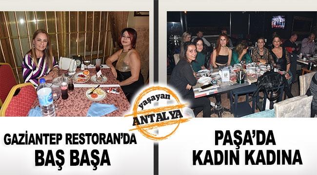 Gaziantep Restoran'da baş başa