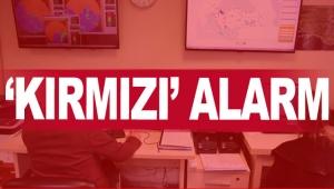 'KIRMIZI' ALARM
