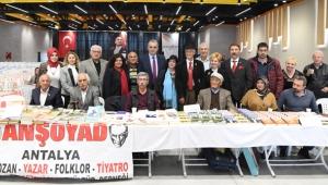 Konyaalt'nda 72 yazar okurlarıyla buluştu