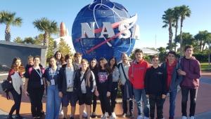 Liseliler NASA'da