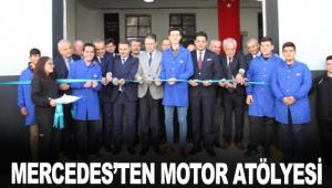 Mercedes'ten Motor atölyesi