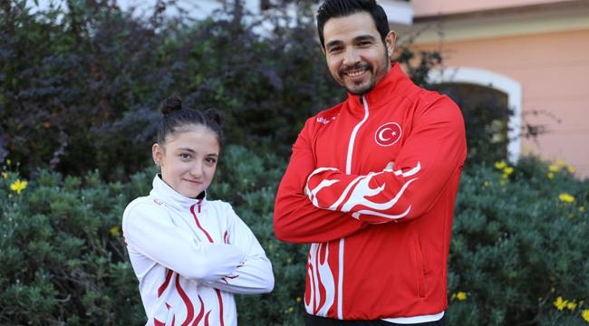Şampiyon Cansu Antalya'da kampta