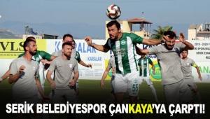 Serik Belediyespor Çankaya'ya çarptı!