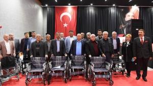 Tüm muhtarlara tekerlekli sandalye