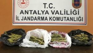 Anne ve oğlu uyuşturucu ticaretinden tutuklandı