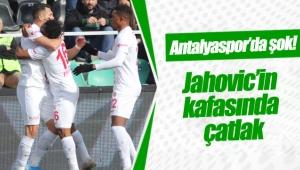 Antalyaspor'da şok! Adis Jahovic'in kafasında çatlak