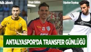 Antalyaspor'da transfer günlüğü