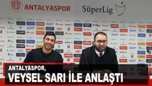 Antalyaspor, Veysel Sarı ile anlaştı