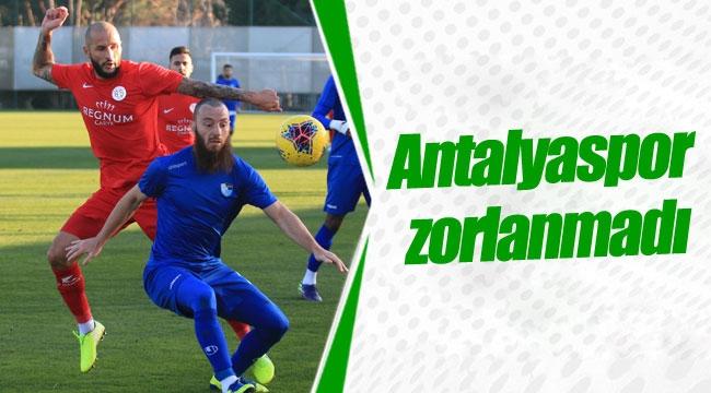 Antalyaspor zorlanmadı