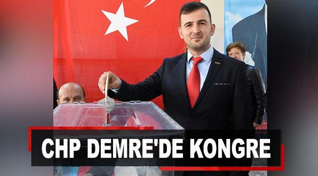 CHP Demre'de kongre