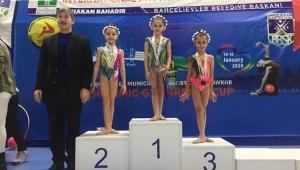 Cimnastikçilerden başarılı sonuçlar