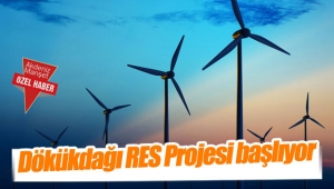 Dökükdağı RES Projesi başlıyor