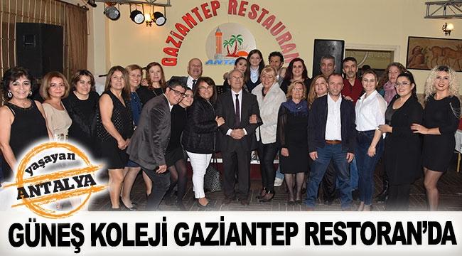 Güneş Koleji Gaziantep Restoran'da