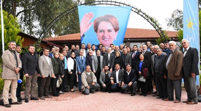 İYİ Parti'liler Demre'de buluştu