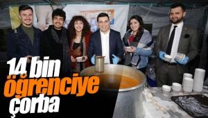 Kepez'den 14 bin öğrenciye çorba
