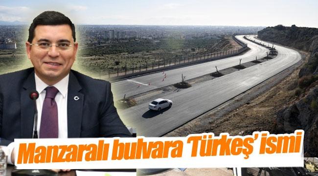 Manzaralı bulvara 'Türkeş' ismi