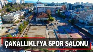 Metin-Nuran Çakallıklı'ya spor salonu