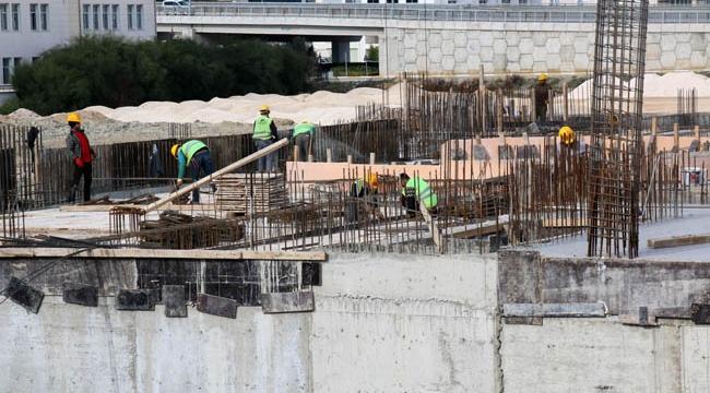 Serik Kültür Merkezi inşaatı yükseliyor