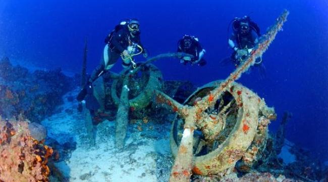 Sessiz tanık Akdeniz'de