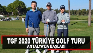 TGF 2020 Türkiye Golf Turu Antalya'da başladı