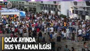 Antalya'ya ocak ayında Rus ve Alman ilgisi