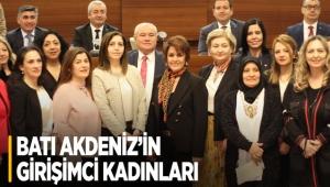 Batı Akdeniz'in girişimci kadınları