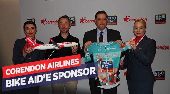 Corendon Airlines Bike Aid'e sponsor