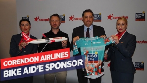 Corendon Airlines Bike Aid'e sponsor