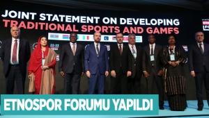 Etnospor Forumu yapıldı